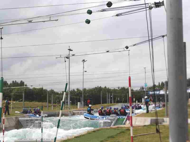 Visit to Lee Valley White Water Centre - DSCF1185