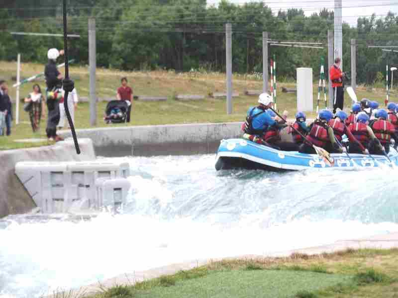 Visit to Lee Valley White Water Centre - DSCF1187