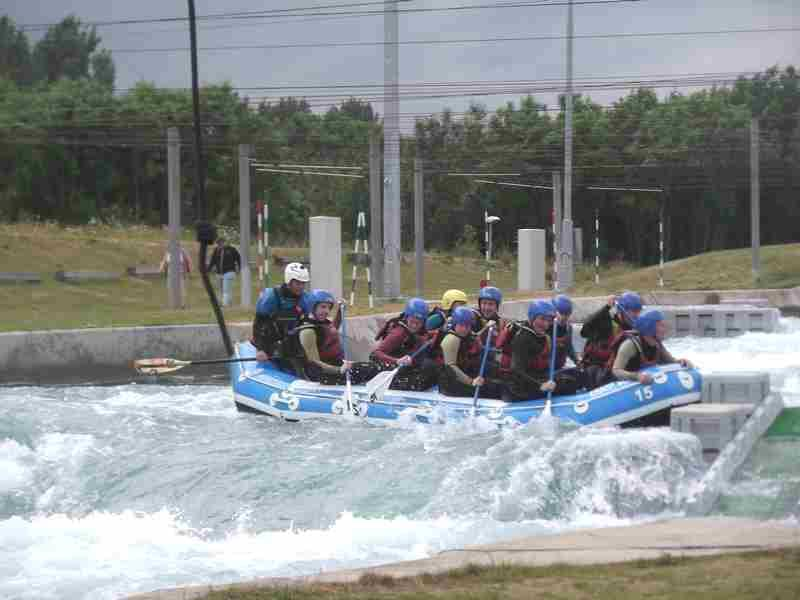 Visit to Lee Valley White Water Centre - DSCF1188