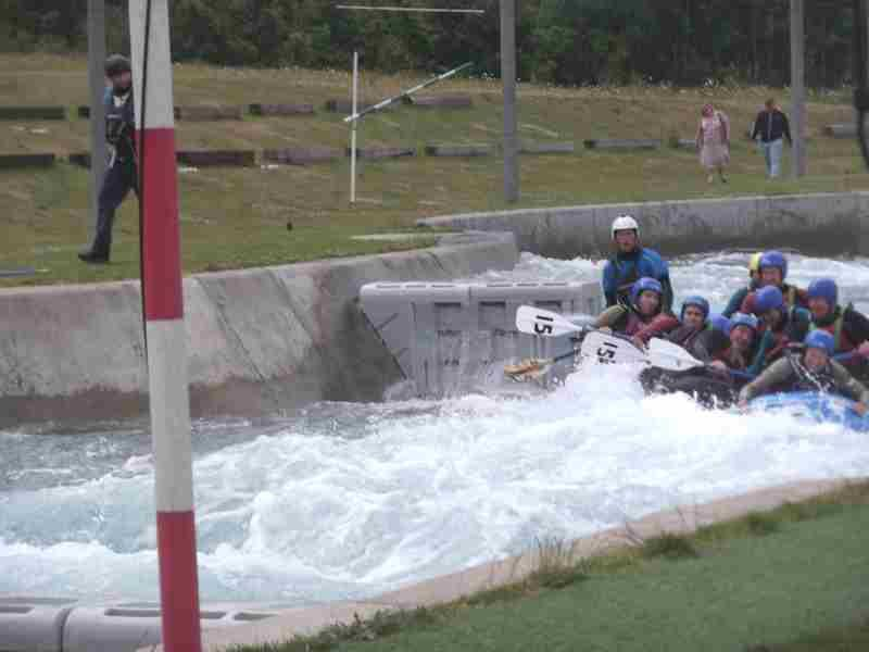 Visit to Lee Valley White Water Centre - DSCF1189