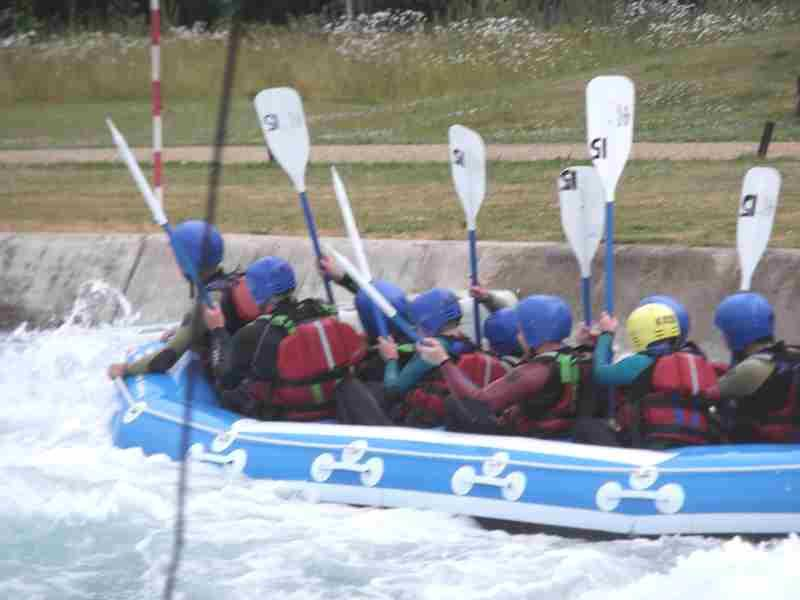 Visit to Lee Valley White Water Centre - DSCF1192