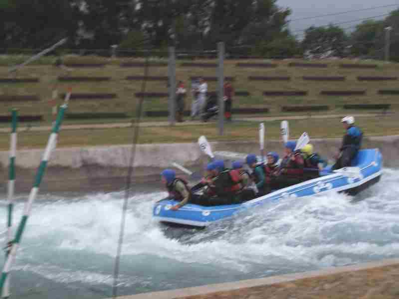 Visit to Lee Valley White Water Centre - DSCF1194
