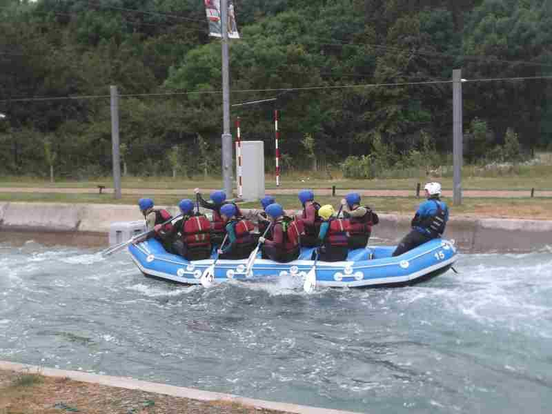 Visit to Lee Valley White Water Centre - DSCF1195