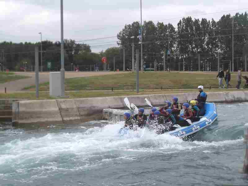 Visit to Lee Valley White Water Centre - DSCF1196