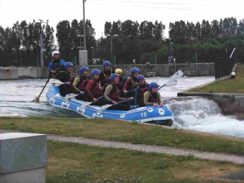 Visit to Lee Valley White Water Centre - DSCF1197