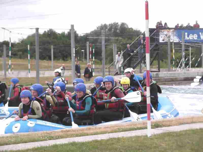 Visit to Lee Valley White Water Centre - DSCF1198