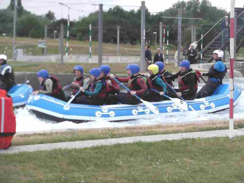 Visit to Lee Valley White Water Centre - DSCF1199