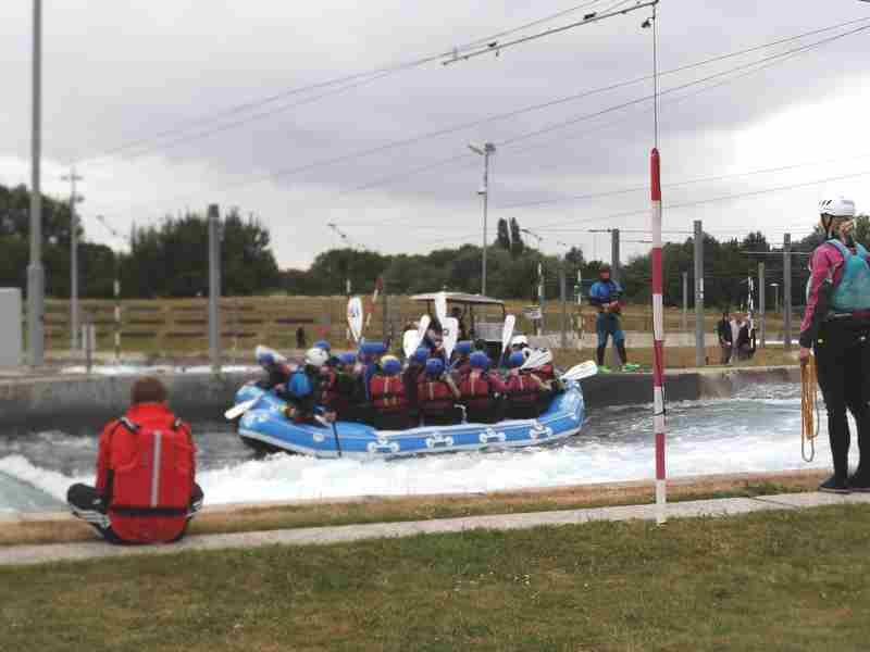 Visit to Lee Valley White Water Centre - DSCF1200