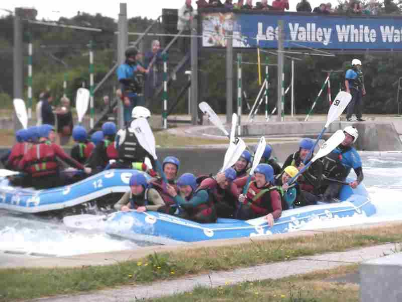Visit to Lee Valley White Water Centre - DSCF1202