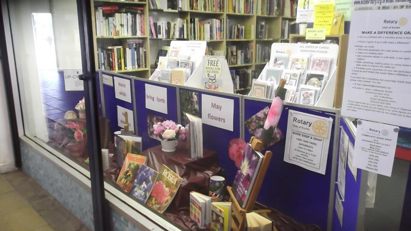 Our Bookshop - See the display in Eccles Precinct