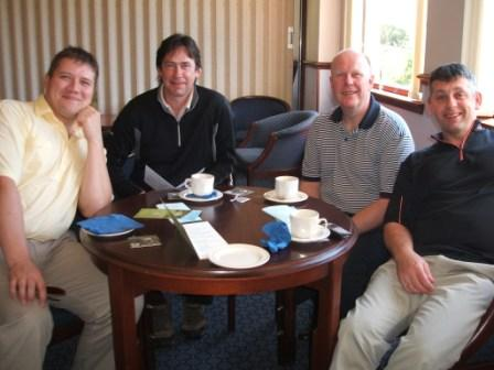 Charity Golf Day -  Still smiling
