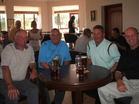 Charity Golf Day -  Thirst quenchers...well it was hot!