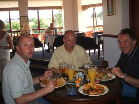 Charity Golf Day -  Hearty appetites