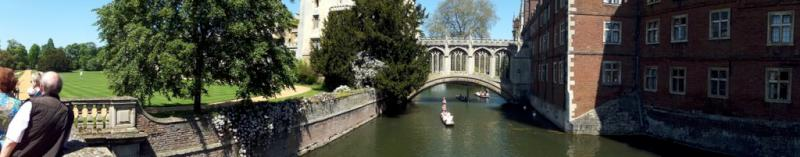 Visit from Pirmasens RC & Kiev Centre RC - May 2012 - A panoramic view of the Bridge of Sighs