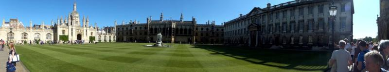 Visit from Pirmasens RC & Kiev Centre RC - May 2012 - A view of King's College as we queued for Evensong in the Chapel