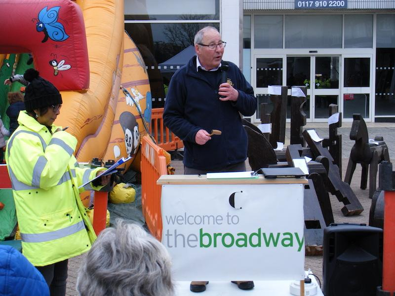 Supporting the Local Community - Charity auction at Plymstock broadway