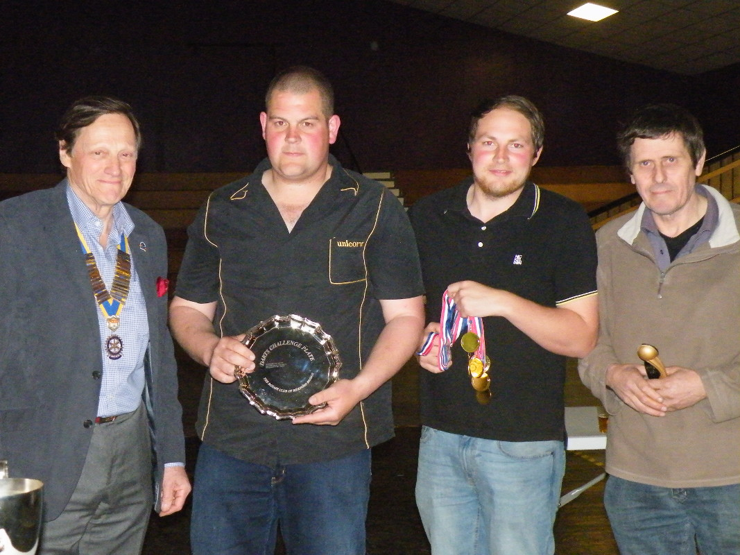Darts Marathon - The Plate Winners - The Castle Inn at George Nympton