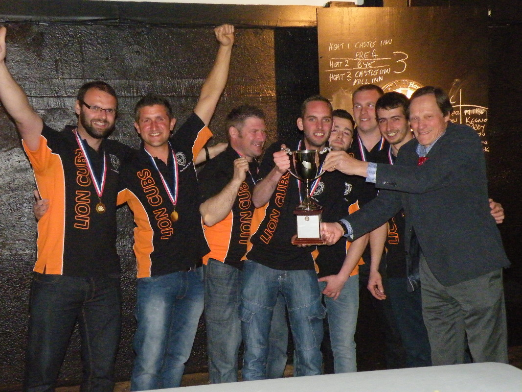Darts Marathon - The Lion Cubs also win The Perpetual Cup