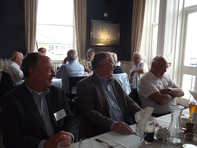 Visit by Holyhead Rotary Club to Dun Laoghaire Rotary Club Thursday 4th August 2016 - DSCF5070