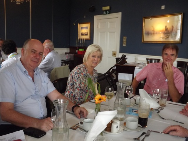 Visit by Holyhead Rotary Club to Dun Laoghaire Rotary Club Thursday 4th August 2016 - DSCF5071