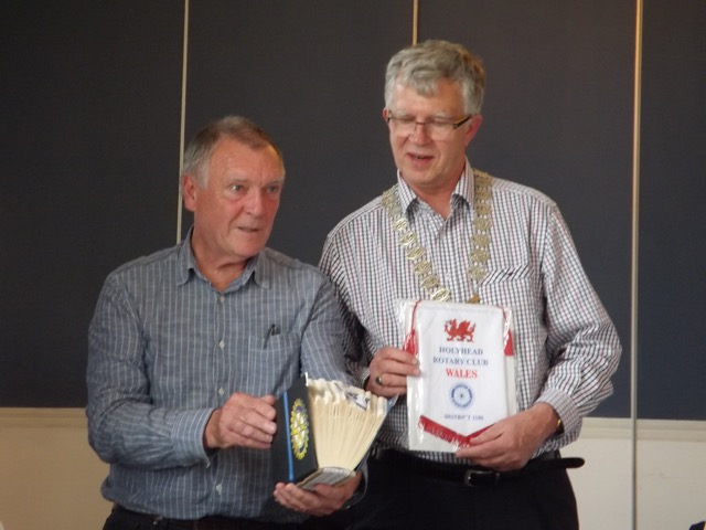 Visit by Holyhead Rotary Club to Dun Laoghaire Rotary Club Thursday 4th August 2016 - DSCF5083