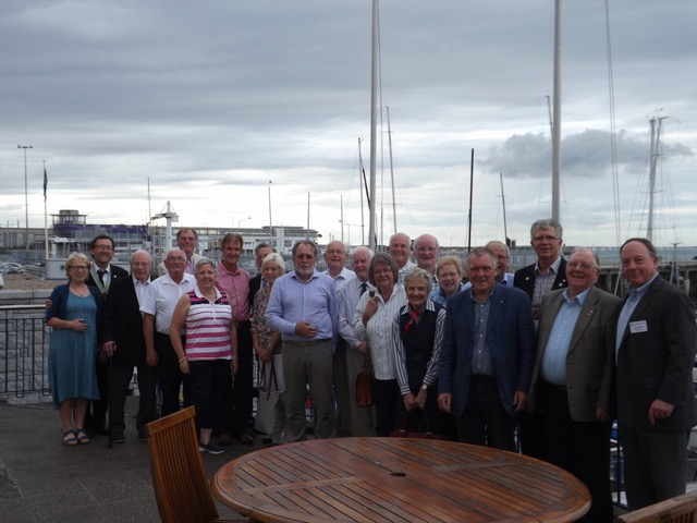 Visit by Holyhead Rotary Club to Dun Laoghaire Rotary Club Thursday 4th August 2016 - DSCF5101