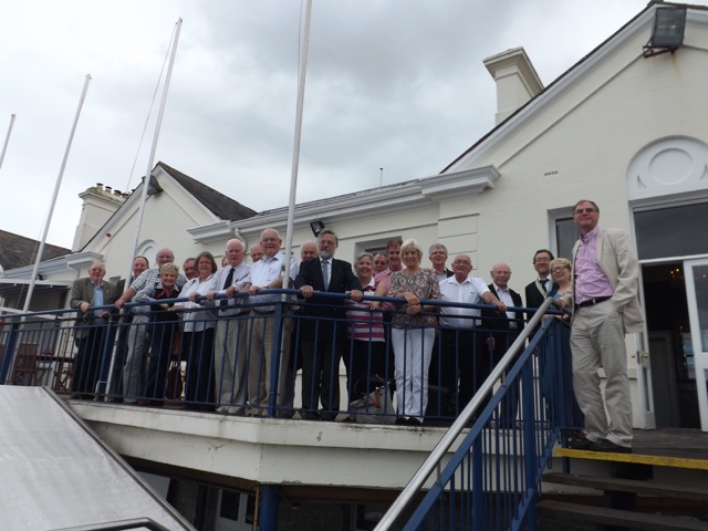Visit by Holyhead Rotary Club to Dun Laoghaire Rotary Club Thursday 4th August 2016 - DSCF5105(1)