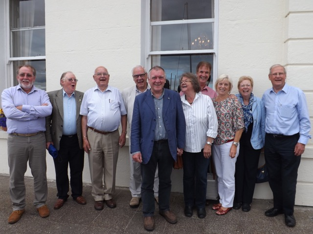 Visit by Holyhead Rotary Club to Dun Laoghaire Rotary Club Thursday 4th August 2016 - DSCF5107(1)