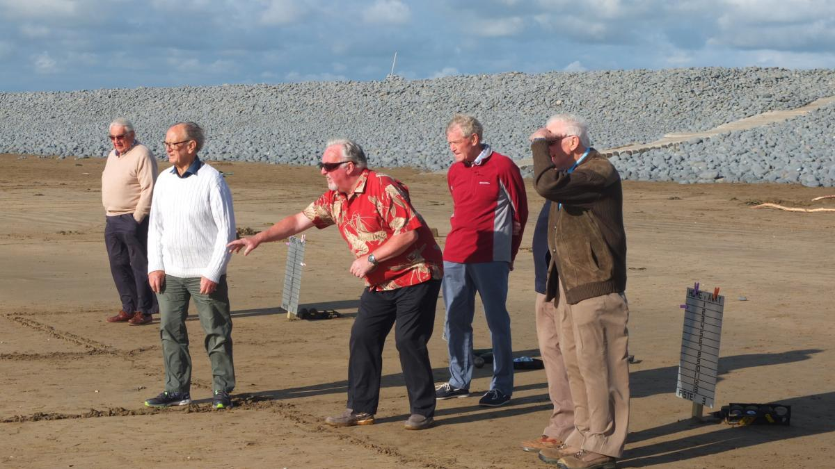 13th July 2016 - Petanque on the beach at Westward Ho!  -