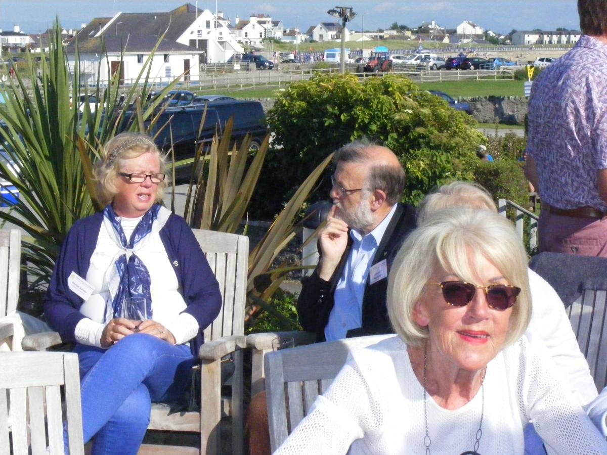 Visit to Holyhead by Dun Laoghaire Rotary Club 24th July 2017 - DSCF6598