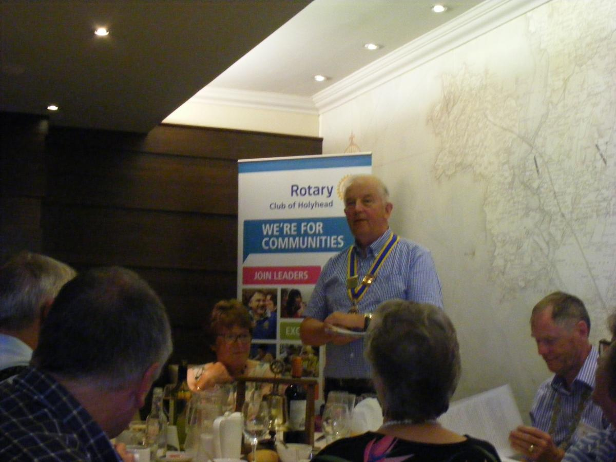 Visit to Holyhead by Dun Laoghaire Rotary Club 24th July 2017 - DSCF6605