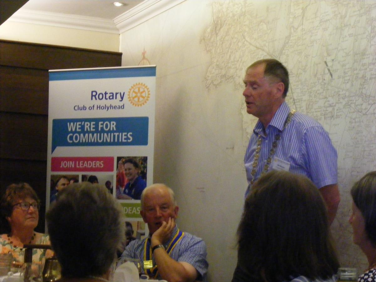 Visit to Holyhead by Dun Laoghaire Rotary Club 24th July 2017 - DSCF6607