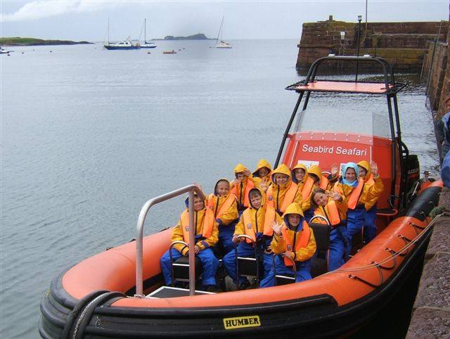 Chernobyl Children 17th June 08 - Ok, were ready to go, Bass Rock please and fast.