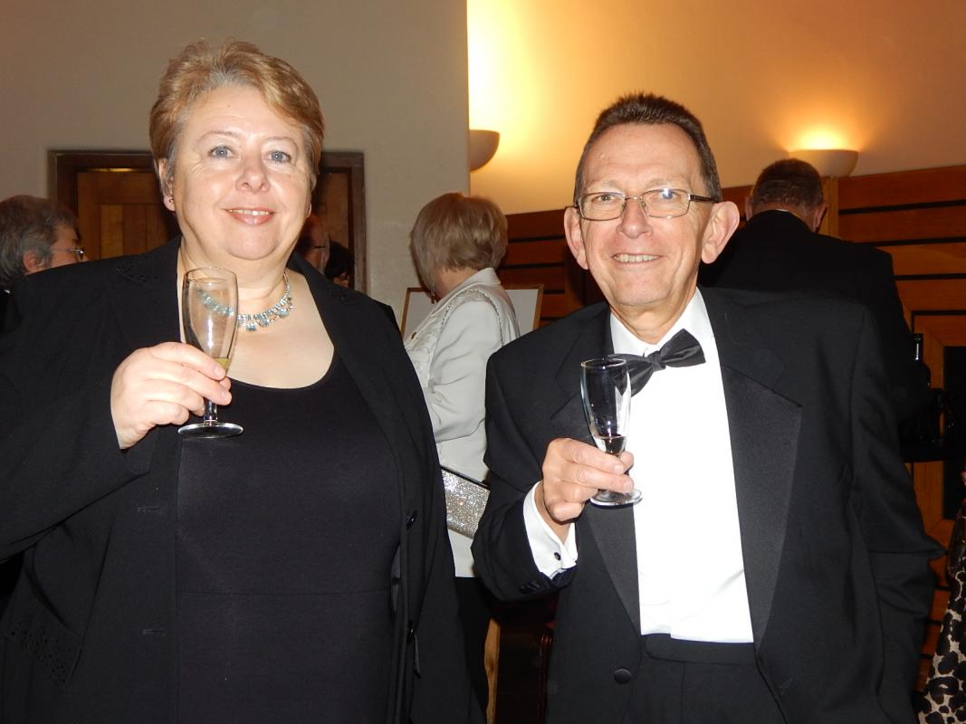 Charter Dinner: Queen's College, Cambridge -