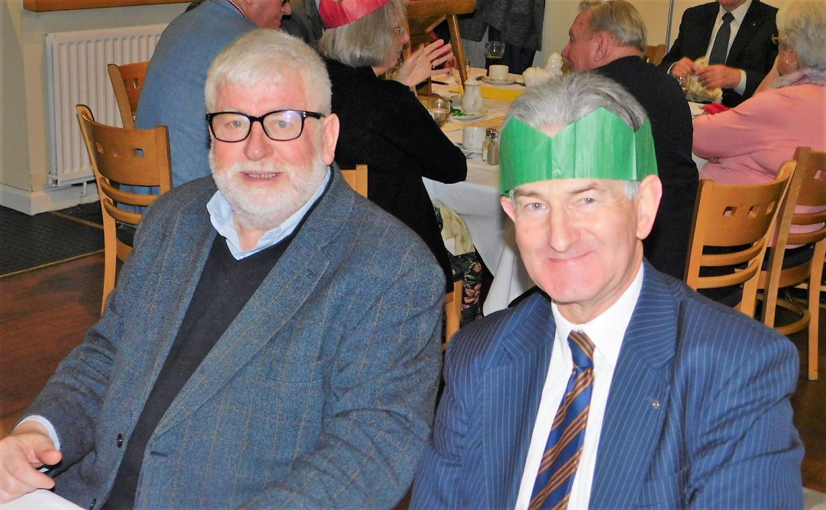 Christmas Lunch and Message from Past President Rev Roger Woodward -