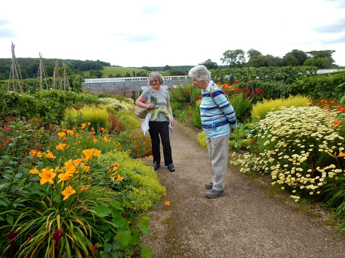 Annual Garden Visit 2016 to West Dean Gardens, West Sussex - Within the kitchen gardens
