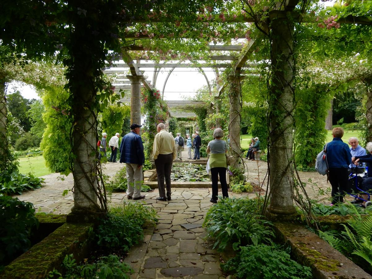 Annual Garden Visit 2016 to West Dean Gardens, West Sussex - We walked under resplendent arbours