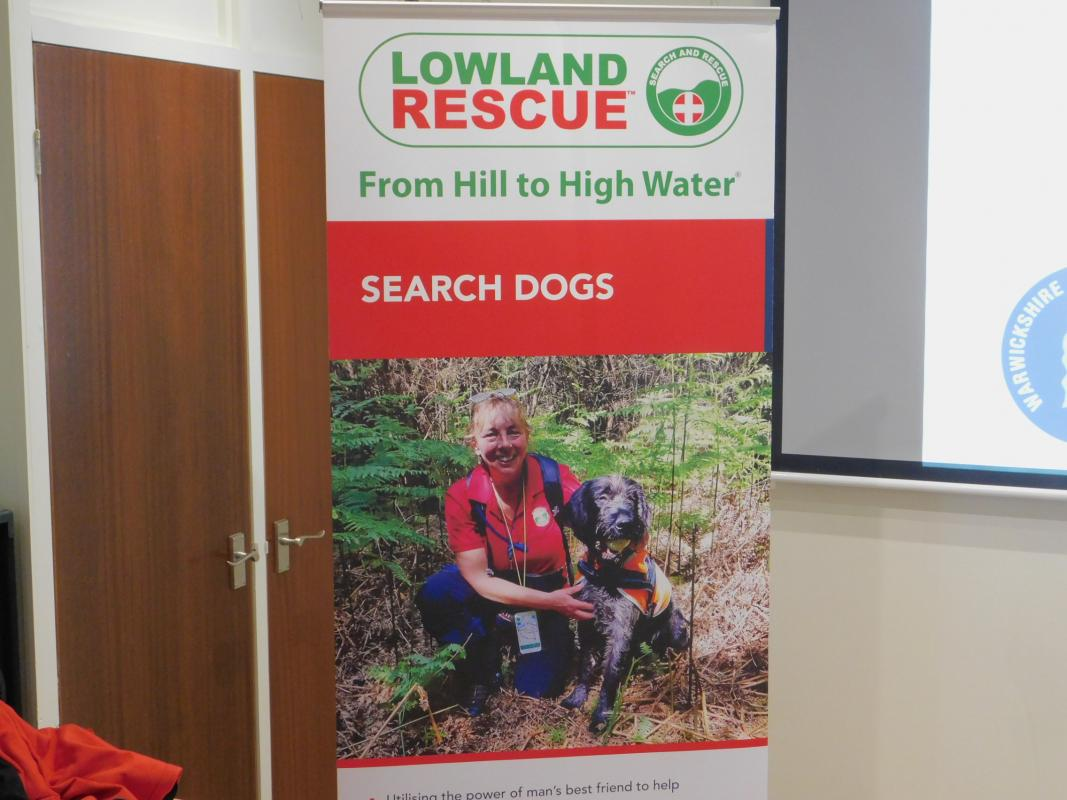 Warwickshire Search and Rescue - Ian Malins -