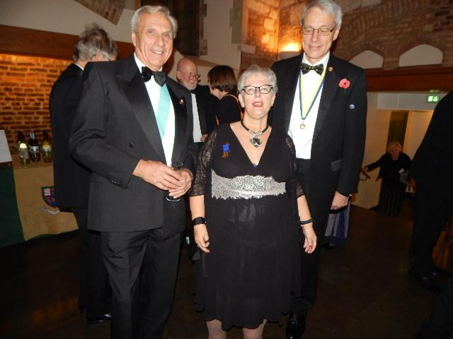 Charter Dinner at Queens College -