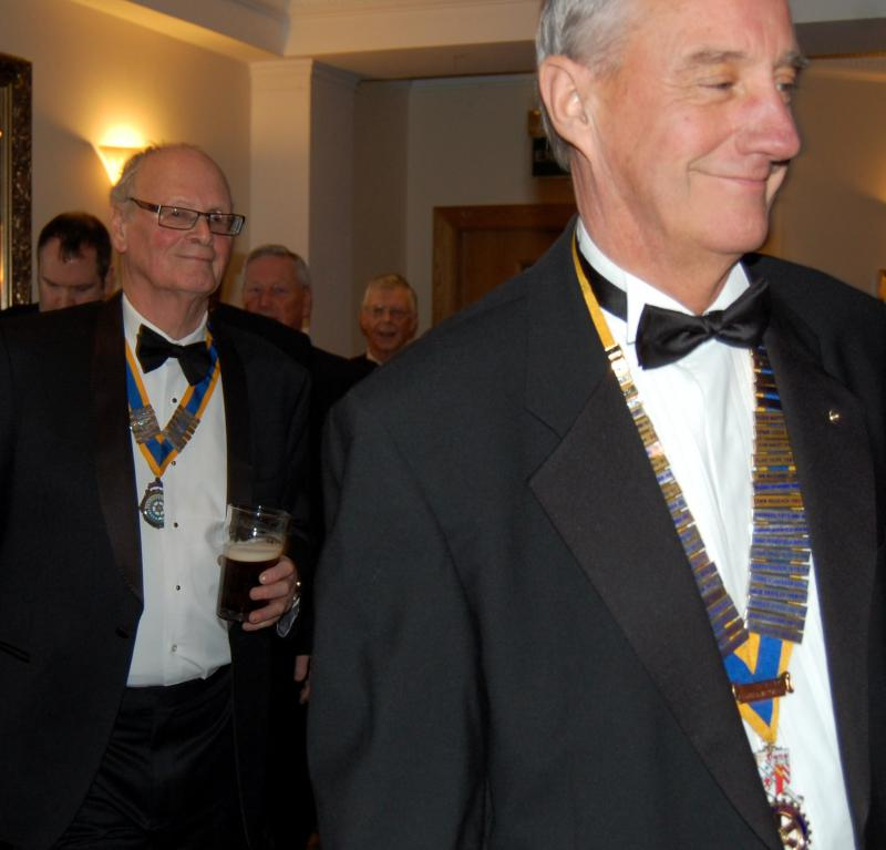 84th CLUB CHARTER ANNIVERSARY 2014 - Arrival of visiting Club Presidents