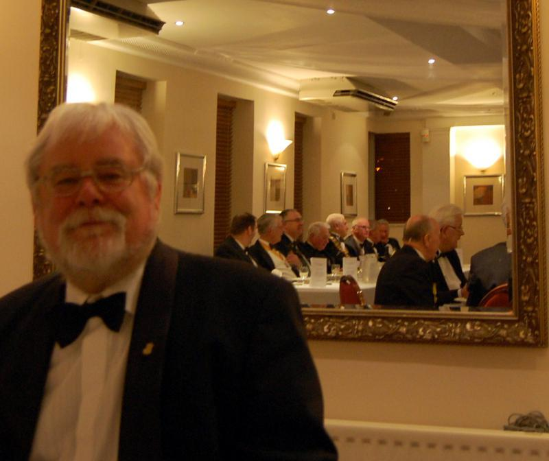 84th CLUB CHARTER ANNIVERSARY 2014 - Toast Master Past President Neil Taylor
