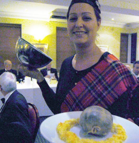 CLUB CHARTER ANNIVERSARY 2013 - Make way for thye Haggis