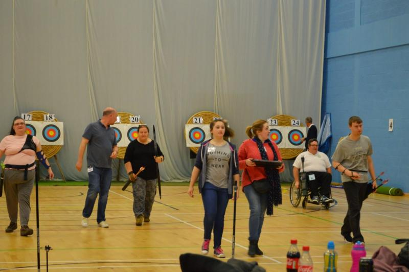 Sports for the Disabled - Good job all the arrows have been loosed.