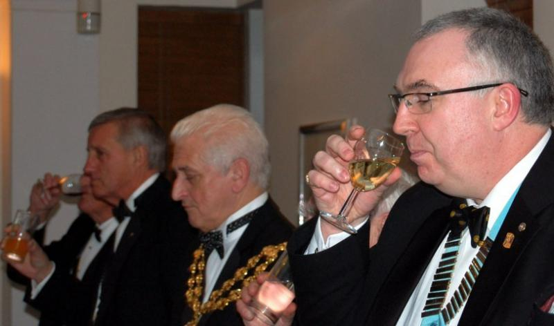 84th CLUB CHARTER ANNIVERSARY 2014 - Toast to the Rotary Club of Oldham