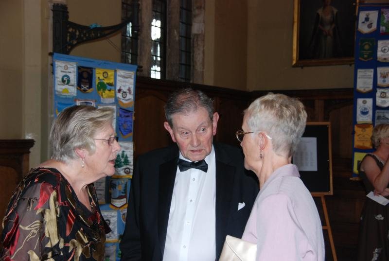 TRINITY GETS TO SILVER - Ted and Margaret Geeson with Margaret Brown