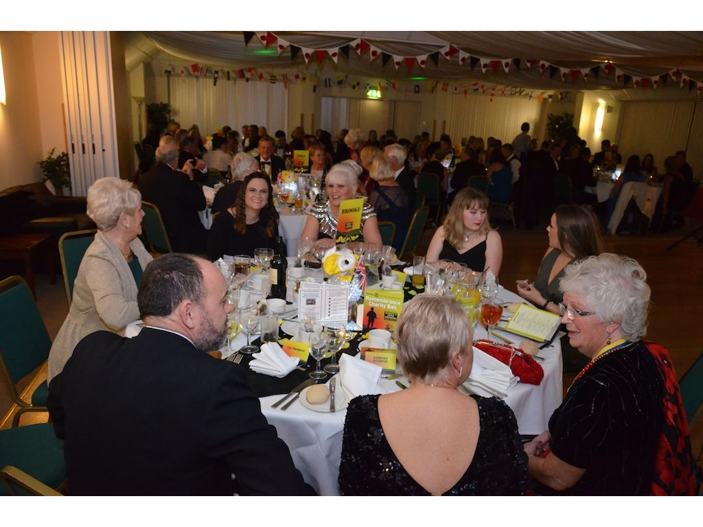 Charity Remembrance Ball Raises £6600 - DSC 0048(4)