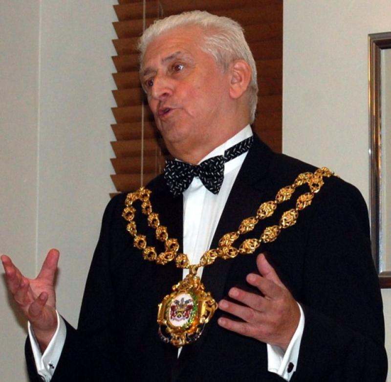 84th CLUB CHARTER ANNIVERSARY 2014 - The Worshipful Mayor of Oldham Councillor Hodges