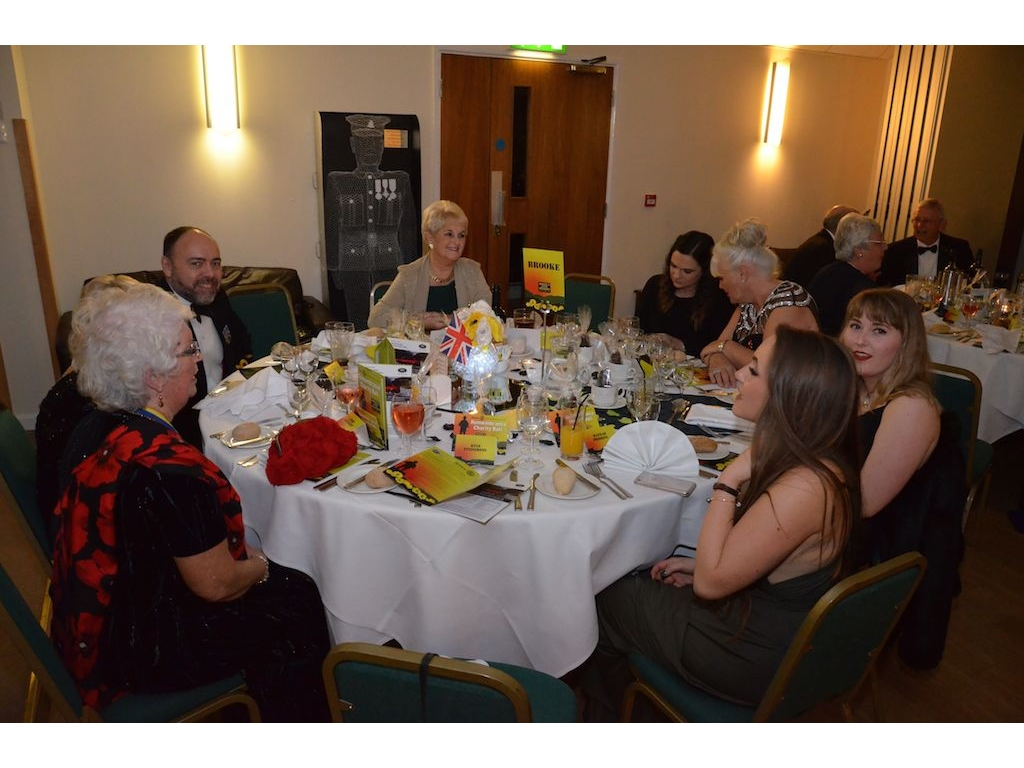 Charity Remembrance Ball Raises £6600 - DSC 0050(4)