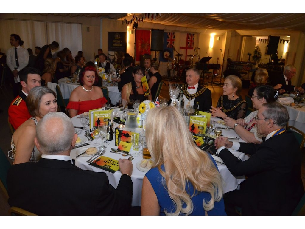 Charity Remembrance Ball Raises £6600 - DSC 0071(4)