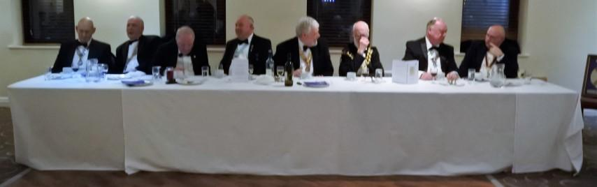 87th Charter Anniversary 2017 - TOP TABLE GUESTS